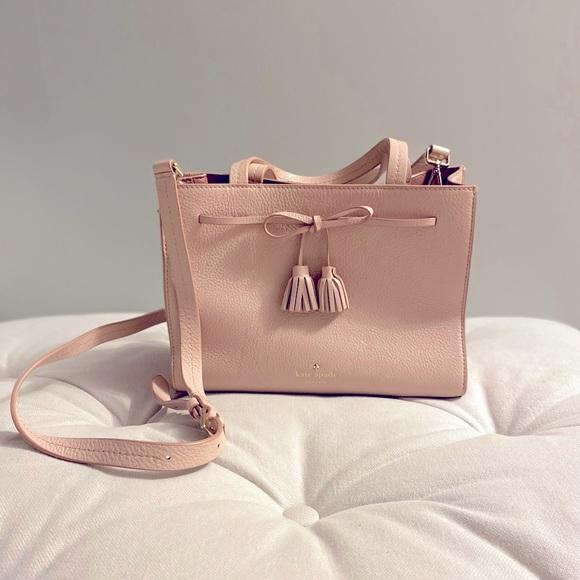 Kate Spade Pink Crossbody Satchel Purse/ Bag